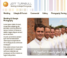 Jeff Turnbull Website Design