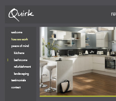 Quirk Refurbishments Website Design