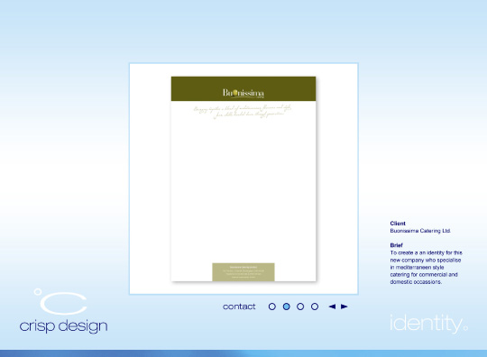 Website Design content - 2005