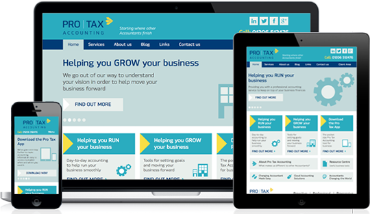 Accountant Website Design that will make you stand out