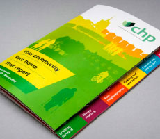CHP Annual Report Design