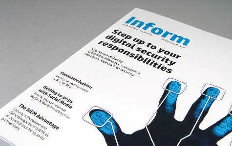 HP Enterprise Security Magazine Design