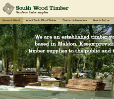 South Wood Timber Website Design