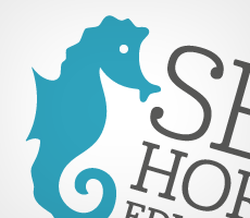 Seahorse Education Logo Design