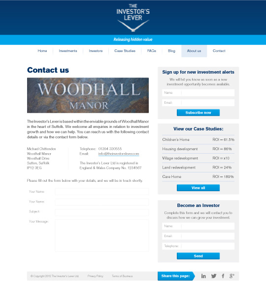 WordPress Design Suffolk