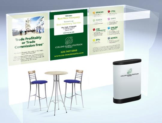Exhibition banner design