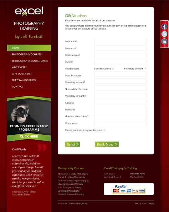 CMS Website Design Essex