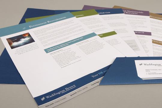 Inserts Brochure Design