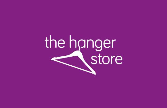 Hanger retailer logo design