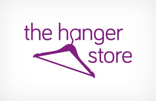 Hanger Store logo design