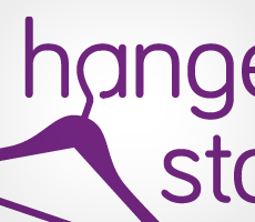 The Hanger Store Logo Design