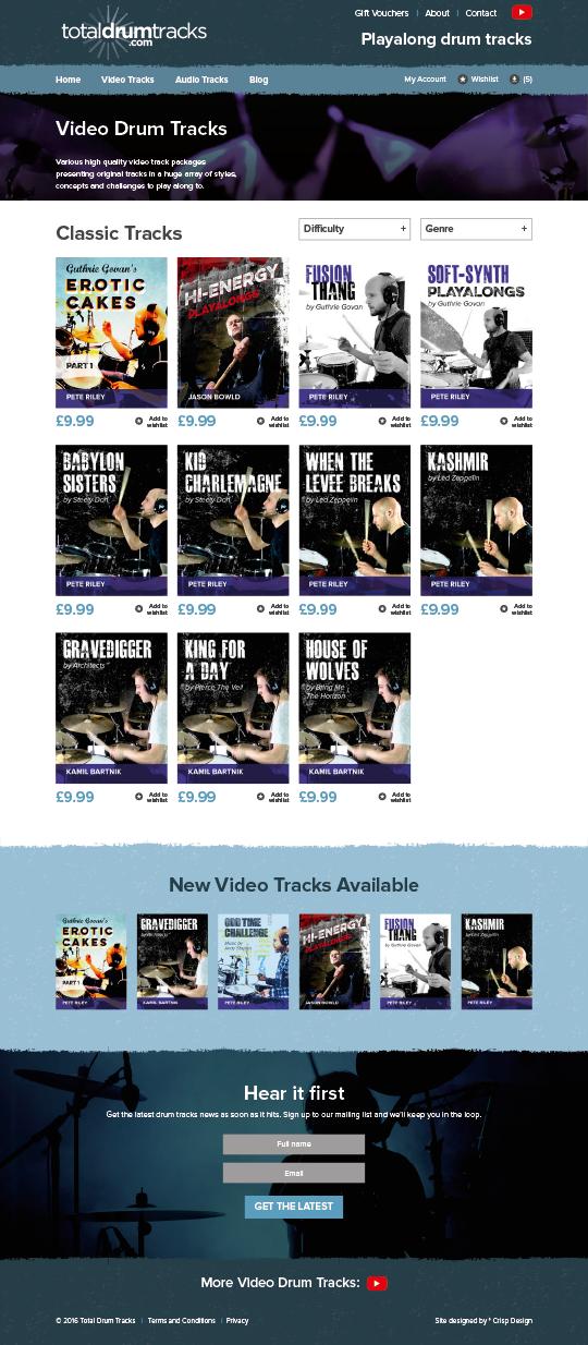 Music Download Website
