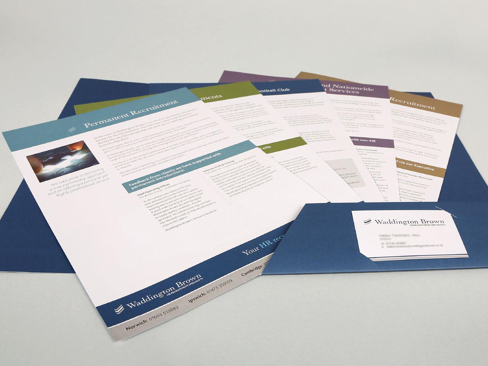 Brochure Inserts Design Essex